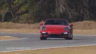 MotorWeek | Road Test: 2015 Porsche Boxster GTS