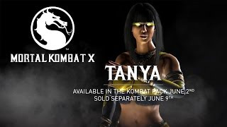 Tanya Trailer - Mortal Kombat X