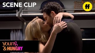 "Young & Hungry   Season 5, Episode 10: Josh Tells Gabi, ""I Love You""   Freeform"
