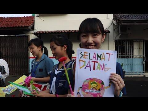 Anak sekolah Jepang datang ke indonesia #Vloglobalsmile #Part1