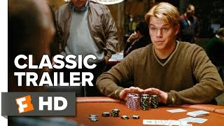 Rounders (1998) Official Trailer 1 - Matt Damon Movie