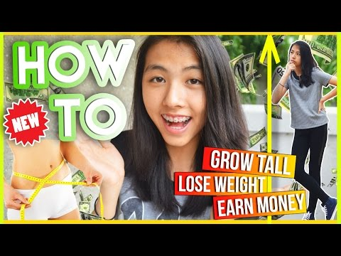 HOW TO Ep 1: Earn Money, Lose Weight & Grow Taller | AlohaKatieX