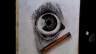 Drawing/Dibujo - Ojo / 2015 HD - Valentina Ortega