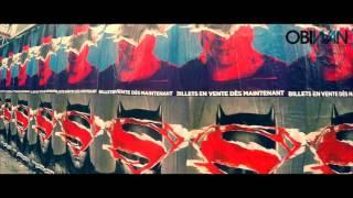 Affichage BATMAN Vs SUPERMAN à Paris
