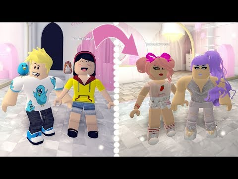 Roblox Makeover! / Chad and Dollastic at the Salon / Gamer Chad Roleplays