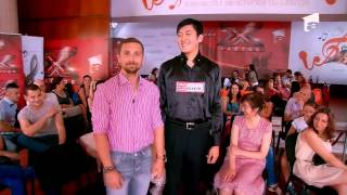 X Factor Romania, sezonul trei - Prezentare Shuang Fang, cel mai inalt chinez aflat la preselectii