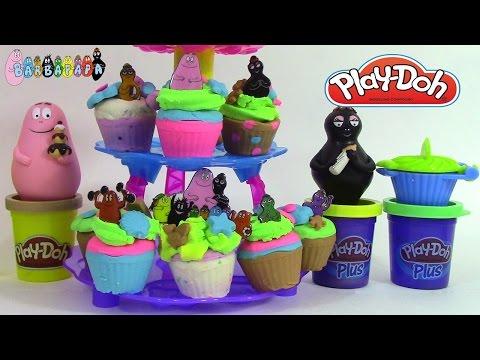 barbapapa p 226 te 224 modeler barba pique nique canal toys picnic play doh vidoemo emotional