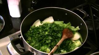 Khoresht Karafs   celery stew - Part one