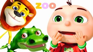 Five Little Babies Went To A Zoo | Five Little Babies Collection | Zool Babies Fun Songs