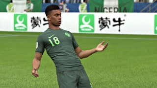World Cup 2018 - Croatia vs Nigeria - Group D Full Match Sim (FIFA 18)