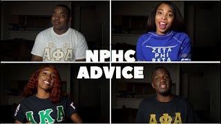 NPHC FRATERNITY AND SORORITY ADVICE | BLACKKOUTTV