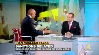 Hooshang Amirahmadi discusses the Iran Sanctions bill on Al Jazeera America