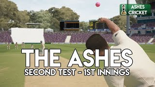 WELCOME TO ADELAIDE - Second Test - First Innings (Ashes Cricket Game)