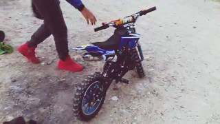 💯Teste Pocket Orion 50cc + Petit Crash😎
