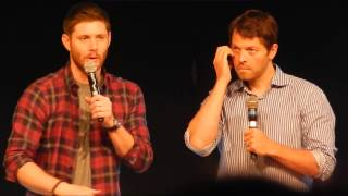 JIB Con 6 - Jensen & Misha Panel - Epic first 15min of panel where absolutely no question is asked!