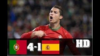 Portugal vs Spain 4-1 -  All Goals & Extended Highlights RÉSUMÉ & GOLES ( Last Match ) HD