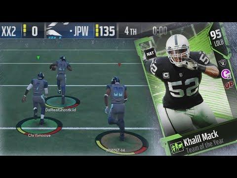 Xxx Mp4 MUT 18 135 Points In Squads Under Pressure Khalil Mack Debut Madden 18 Ultimate Team Gameplay 3gp Sex