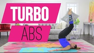 3 minute Abs Workout | POP Pilates TURBO
