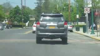 Driving on Hempstead Ave in the vilage of malverne New York