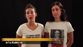 VIDÉ'OFF : La femme comme champ de bataille - Espace Alya #OFF16