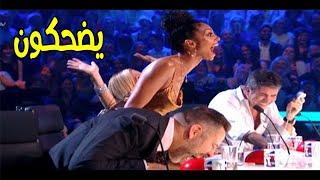 الكوميدي صاحب الباز الذهبي الذي منع لجنة التحكيم من التوقف عن الضحك   مترجم