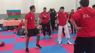 World Taekwondo Junior 2018. Training