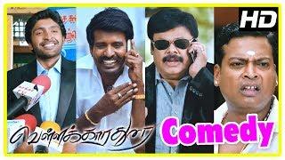 Vellakkara Durai Comedy Scenes | Vol 1 | Vikram Prabhu | Soori | John Vijay | Tamil Comedy 2017