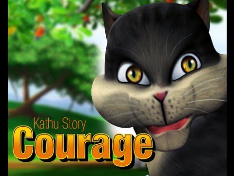 COURAGE | Malayalam Children's cartoon story from Kathu