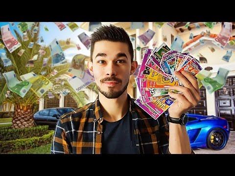 100€ DE JEUX A GRATTER : JE GAGNE COMBIEN ?