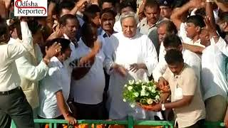 welcome cm in Bhubaneswar