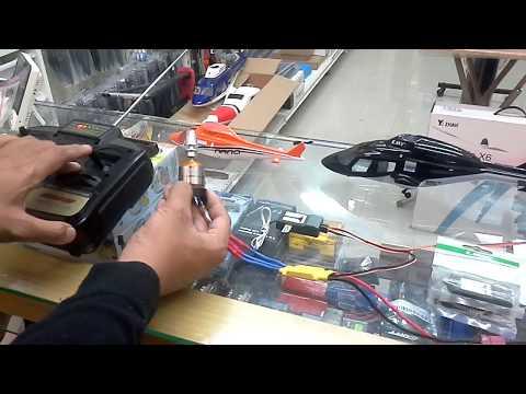 【天鷹遙控】ESKY 72MHZ傳統接收機/接收器 接線示範