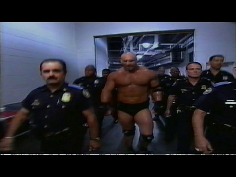 Explosive Goldberg entrance (Atlanta)