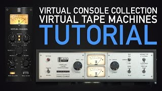 Virtual Console Collection and Virtual Tape Machines Tutorial