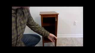 $5 DIY Hidden Compartment Night Stand
