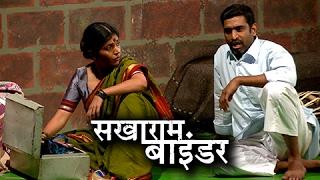 Sakharam Binder Marathi Natak | Glimpses, Interview | Mukta Barve, Sandeep Pathak | Natyaranjan