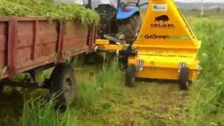 Forage Harvester, Ot Silaj Makinesi Çelikel, celikel, maize chopper, forager, grass chopper