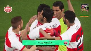 PS4 PES 2018 Club Africain Option Files 2018-2019 [HD]