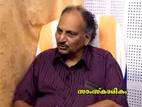 an interview with Ezhaachery Ramachandran