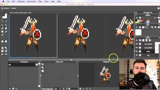 How To Pixel Art Tutorial Part 15: Idle Animation