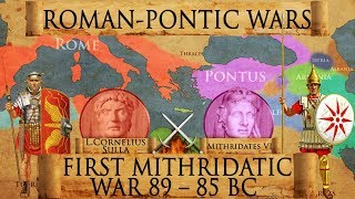 Battles of Chaeronea (86 BC) and Orchomenus (85 BC) Mithridatic Wars DOCUMENTARY