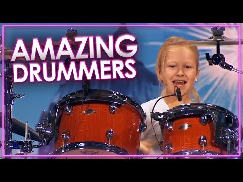 BEST DRUMMER S IN THE WORLD Auditions On Got Talent Top Talent