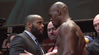 Daniel Cormier and Jon Jones clash at entertaining UFC 214 presser