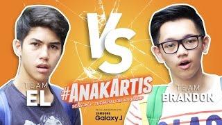 Anak Artis Season 2 - Tim El vs Tim Brandon
