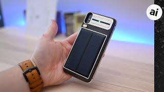Hands On with a $4,600, Gold, Carbon Fiber, Solar Charging Tesla iPhone X!