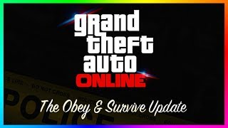 GTA ONLINE NEW DLC CONTENT UPDATE QNA - POLICE/COP EXPANSION, CHEAPER VEHICLE PRICES & MORE! (GTA 5)