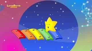 TWINKLE TWINKLE LITTLE STAR with lyrics   Lottie Dottie Chicken