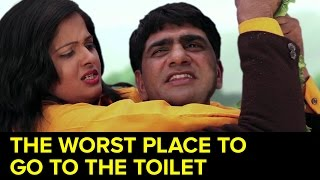 The Worst Place To Go To The Toilet