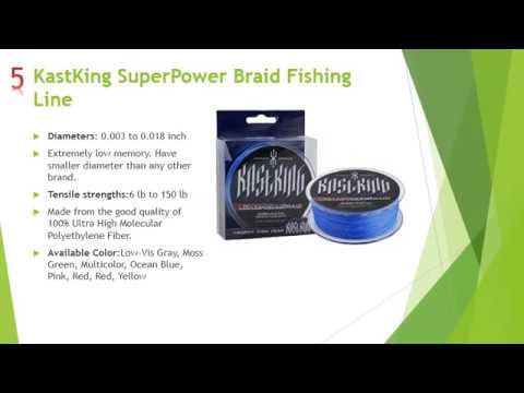 Top 10 best Braided fishing line in 2017