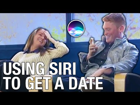 HOW TO GET A DATE USING SIRI
