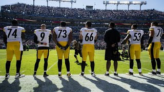 Pittsburgh Steelers Vs Baltimore Ravens National Anthem 10/1/17